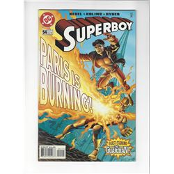 Superboy Issue #54 by DC Comics
