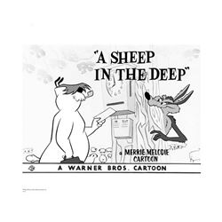 Warner Brothers Hologram A Sheep in Deep