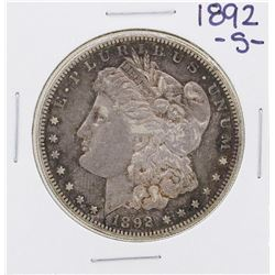 1892-S $1 Morgan Silver Dollar Coin