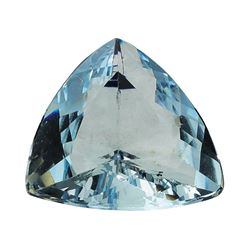 2.36 ct.Natural Trilliant Cut Aquamarine