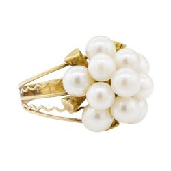 Pearl Ring - 10KT Yellow Gold