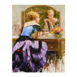 By the Mirror by Pino (1939-2010)
