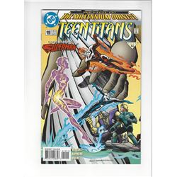Teen Titans Issue #19 by DC Comics