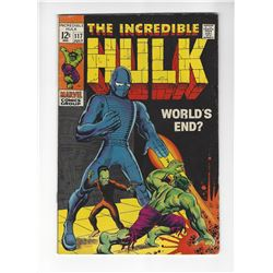 The Incredible Hulk Issue #117 by Marvel Comics