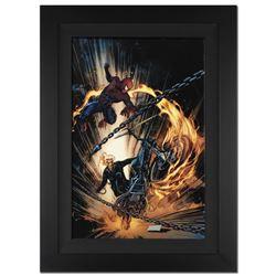 Amazing Spider-Man/ Ghost Rider: Motorstorm #1 by Stan Lee - Marvel Comics