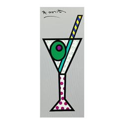 Silver Martini by Britto, Romero