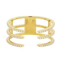 0.3 ctw Diamond Ring - 14KT Yellow Gold