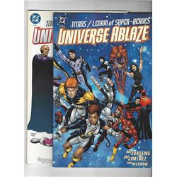 Universe Ablaze Issue #1-2 by DC Comics