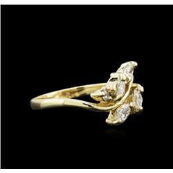 0.43 ctw Diamond Ring - 14KT Yellow Gold
