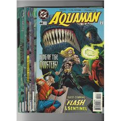 Aquaman Issue #44-51 and 53 by DC Comics