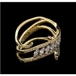 1.07 ctw Diamond Ring - 14KT Yellow Gold
