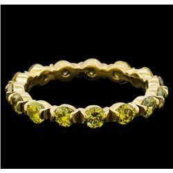 1.92 ctw Yellow Diamond Ring - 14KT Yellow Gold