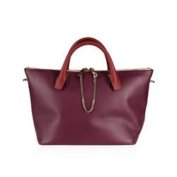 Chloe Baylee Crimson and Fig Crossbody Tote Bag