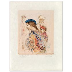 Guatemalan Mother and Baby by Hibel (1917-2014)