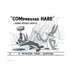 Warner Brothers Hologram Compressed Hare Mallet