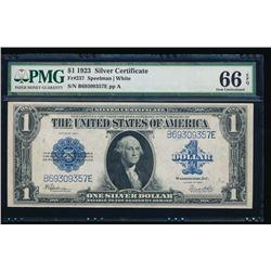 1923 $1 Silver Certificate PMG 66EPQ