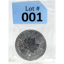 2019 Royal Canadian Mint Maple Leaf Silver Coin