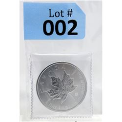 2018 Royal Canadian Mint Maple Leaf Silver Coin