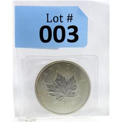 2017 Royal Canadian Mint Maple Leaf Silver Coin