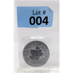 2016 Royal Canadian Mint Maple Leaf Silver Coin