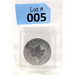 2015 Royal Canadian Mint Maple Leaf Silver Coin