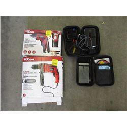 2 Drills & 2 Jumper Kits - Store Returns