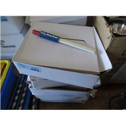 6 Boxes Construction Pencil/Crayon Flip Markers