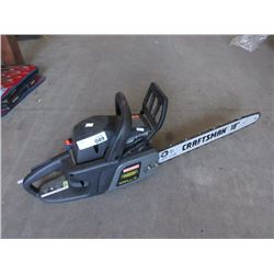 """Craftsman Gas Operated 18"""" Chain Saw"""