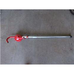 New Hand Crank Barrel Pump