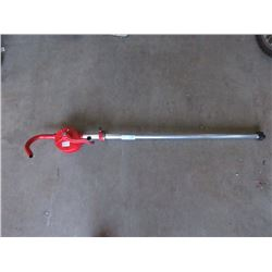 New Hand Crank Barrel Pump