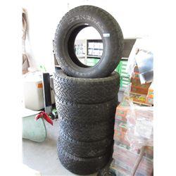 Set of 6 General Grabber AT2 Truck Tires