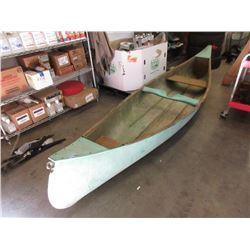 13 Foot Fiberglass Canoe