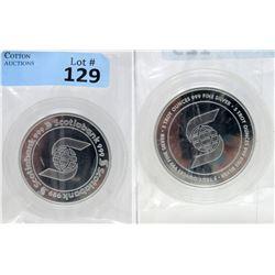 5 Oz. Scotiabank .999 Fine Silver Round
