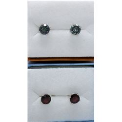 2 New Pairs of Sterling Silver Earrings