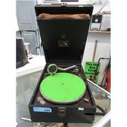 Vintage RCA Victor Portable Record Player
