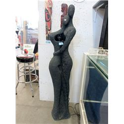 5 Foot Tall Water Feature - Resin