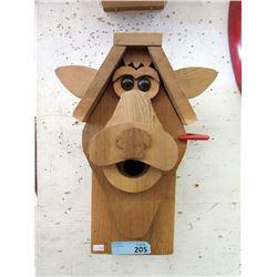 New Solid Wood Sheep Design Bird House