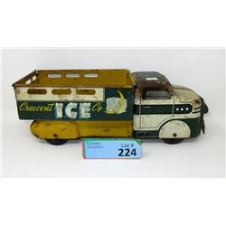 1950s MarxCrescent Ice Company Truck