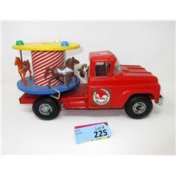 1950s Buddy L Rare Merry-Go-Round Truck