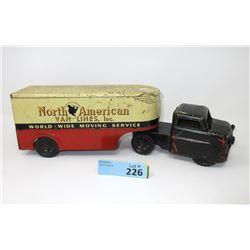 1940s North American Van Lines Moving Truck