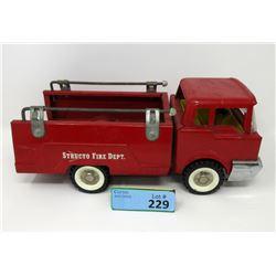 1950/1960s Structo Pressed Steel Fire Dept Truck