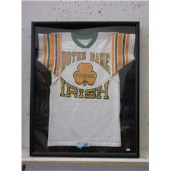 "Framed ""Notre Dame Fighting Irish"" T-Shirt"