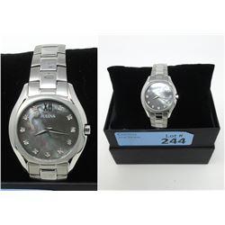 New in Box Mans 11-Diamond Bulova Watch