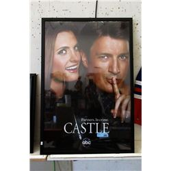 "Framed ""Castle"" TV Series Poster"