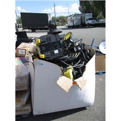 Skid of Pressure Washers and Other Goods