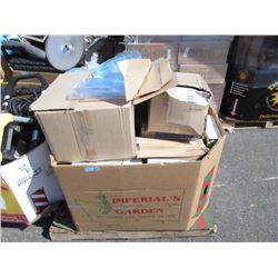 Skid of Assorted Restaurant Supplies