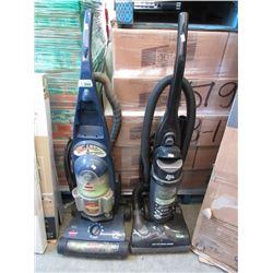 2 Upright Vacuums - Store returns