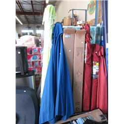 4 Assorted Patio Umbrellas - Store Returns