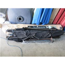 2 Offset Patio Umbrellas - Store Returns