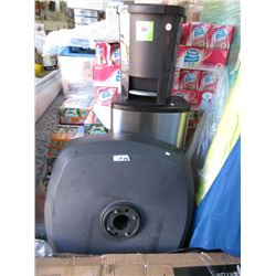 Patio Umbrella Base & 2 Trash Cans - Store Returns